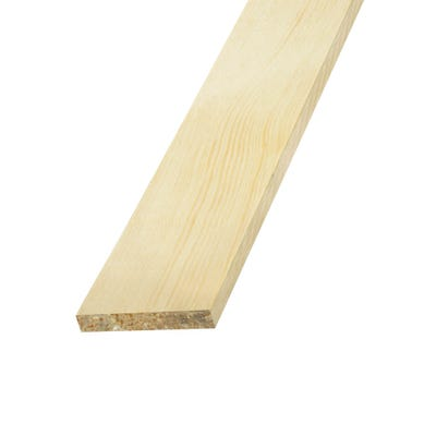 25mm x 4mm Richard Burbidge Pine Stripwood 2400mm FB327 Pack of 20