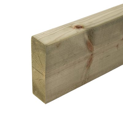 47mm x 150mm Structural Graded C24 Treated Carcassing Timber 6000mm (6'' x 2'') Pack of 77