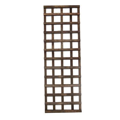 6' x 2' Brown Treated Square Trellis