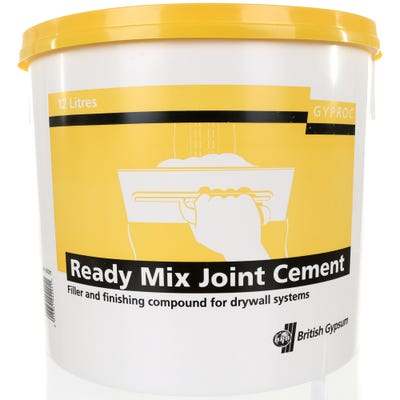 British Gypsum Gyproc Ready Mix Joint Cement 12L
