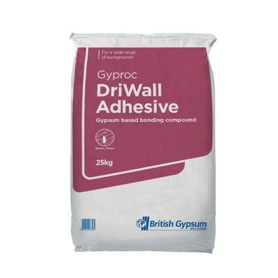 British Gypsum Gyproc DriWall Adhesive 25Kg