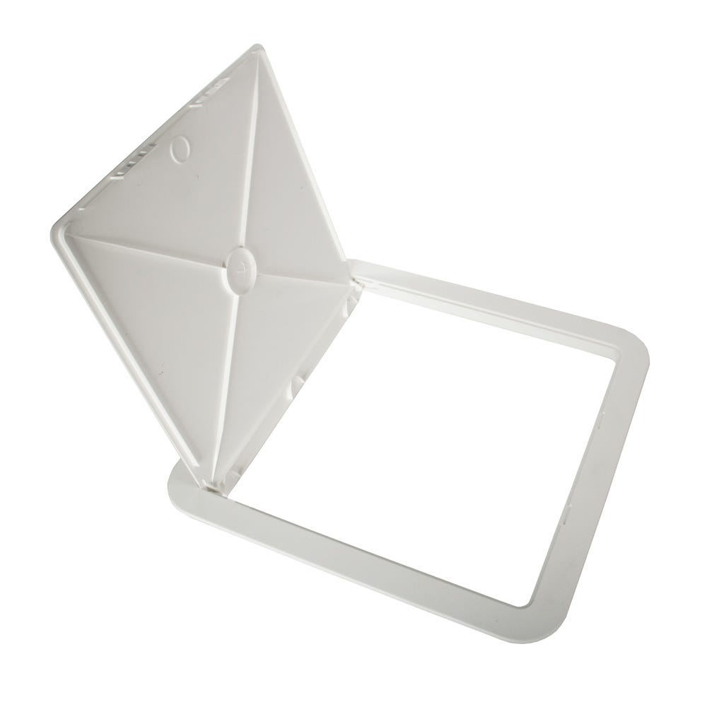 """8/"""" Surface Fit White ABS Plastic Access Panel Inpsection Hatch 200mm x 200mm"""
