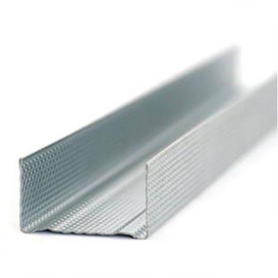 72mm British Gypsum Gypframe Folded Edge Channel 3600mm 72 FEC 50
