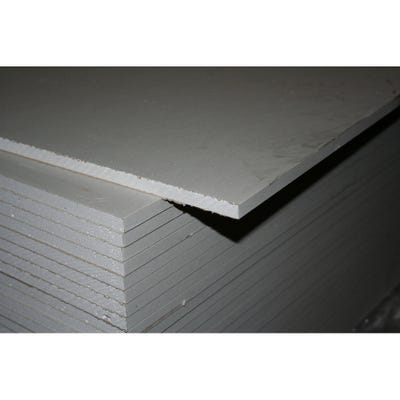9.5mm British Gypsum Gyproc WallBoard Plasterboard Square Edge 1800mm x 900mm (6' x 3')
