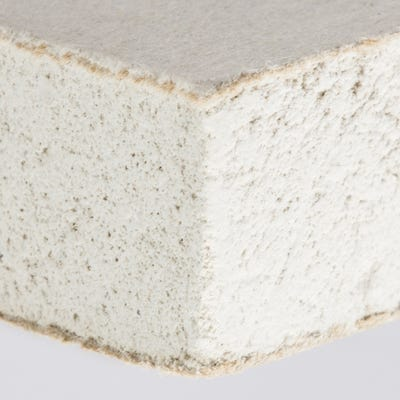 9.5mm British Gypsum Gyproc WallBoard Plasterboard Tapered Edge 2400mm x 1200mm (8' x 4')