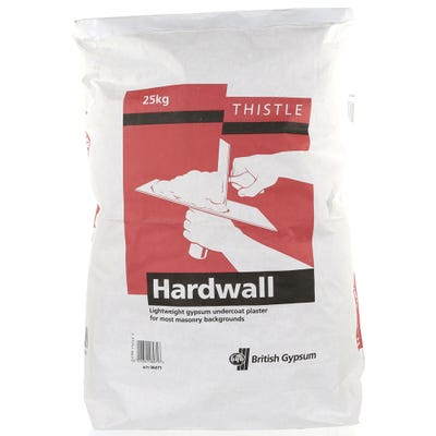 British Gypsum Thistle Hardwall 25Kg