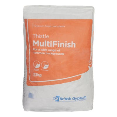 British Gypsum Thistle Multi Finish 25Kg