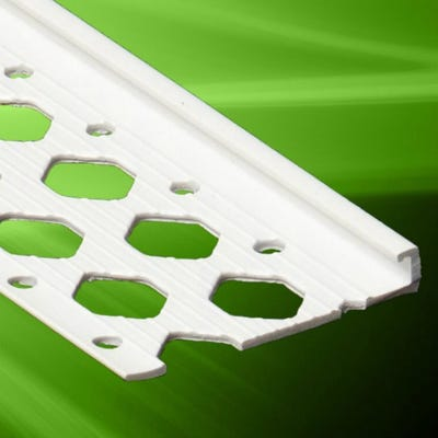 10mm Speed Pro PVC Stop Bead White 3000mm