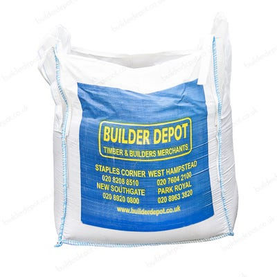 10mm Pea Gravel/Shingle Bulk Bag
