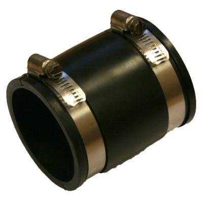 Flexseal 80mm - 86mm Flexible Straight PVC Coupling