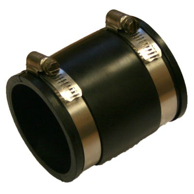 Flexseal 80mm - 86mm Flexible Straight PVC Coupling