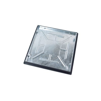 600mm x 600mm Clark-Drain 5T GPW Recessed Manhole Cover & Frame Concrete Infill