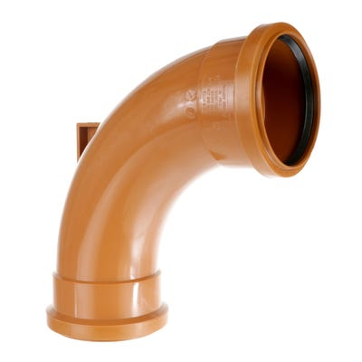 110m Polypipe 87.5° Rest Bend Double Socket UG483