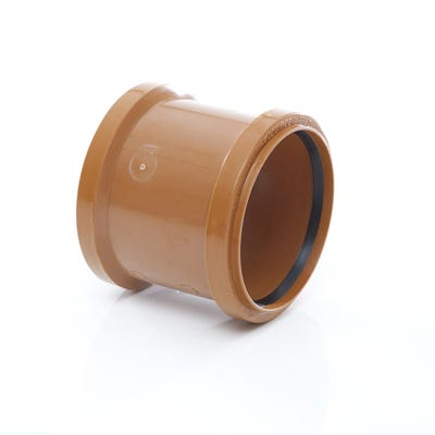 110mm Polypipe Coupler Double Socket UG401