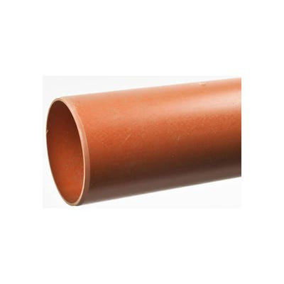 160mm Polypipe Underground Pipe Plain Ended 3000mm UG630