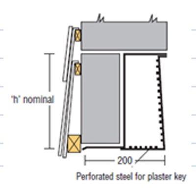 IG Standard Box 200 Steel Lintel 3300mm