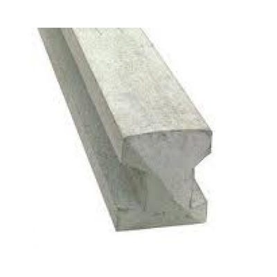 8' Slotted Concrete Intermediate Post 94mm x 109mm x 2440mm
