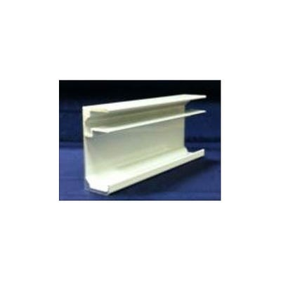 16mm End Cap For Triplewall Polycarbonate Roof Sheet White 2100mm