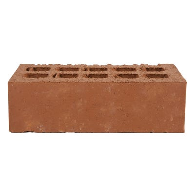 Engineering Brick Class B Smooth Red Perforated