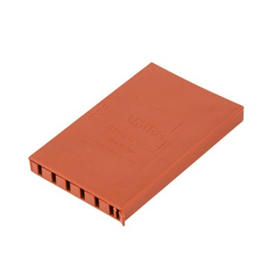 10mm x 65mm Cavity Wall Weep Vent Terracotta