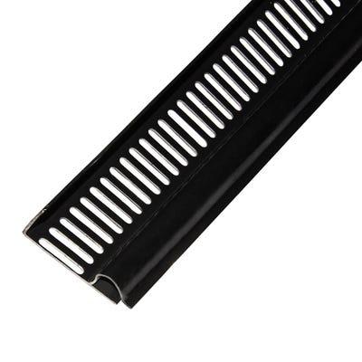 Soffit Strip Black 2400mm