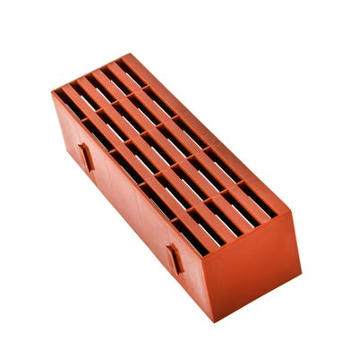 9'' x 3'' Plastic Air Brick Terracotta