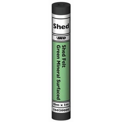 1000mm x 10m IKO Shed Felt Green Mineral