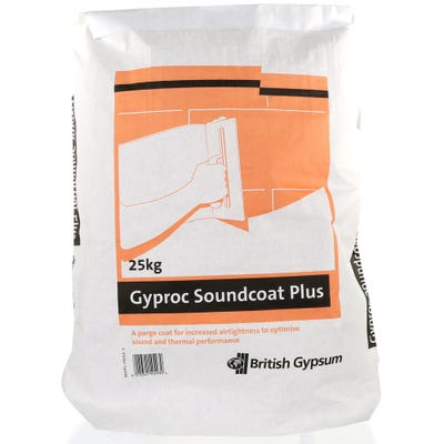 British Gypsum Gyproc Soundcoat Plus 25Kg
