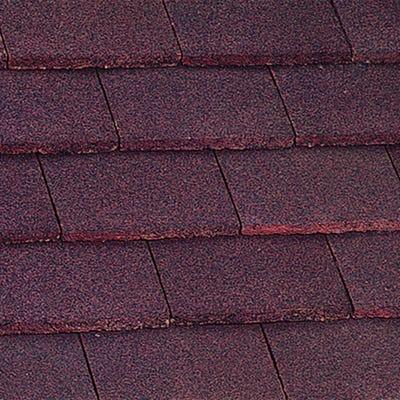 Marley Plain Tile Concrete Dark Red 267mm x 168mm