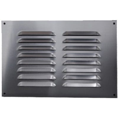 Aluminium Fixed Louvre Ventilators 75mm x 225mm