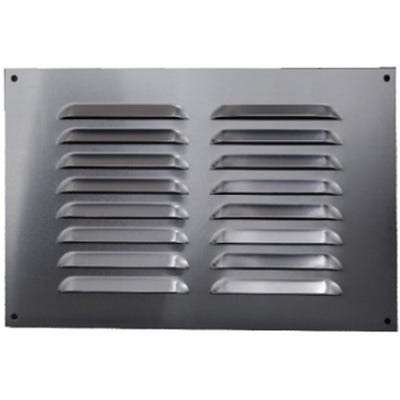 Aluminium Fixed Louvre Ventilators 150mm x 225mm