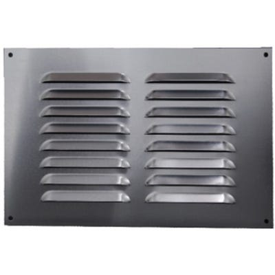 Aluminium Fixed Louvre Ventilators 225mm x 225mm