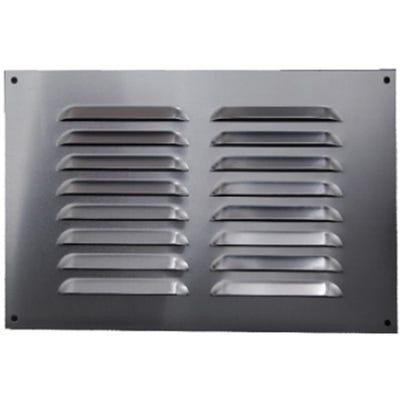 Aluminium Fixed Louvre Ventilators 300mm x 300mm