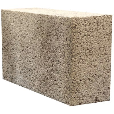 140mm Masterblock Masterlite Pro Medium Dense Concrete Block 7.3N 215mm x 440mm