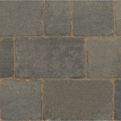 Bradstone Monksbridge Block Paving Cinder Mixed 4 Size Pack (9.6m²)