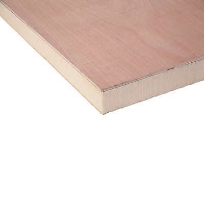 126mm Ecotherm Eco Deck Flat Roof Insulation 2400mm x 1200mm (8' x 4')