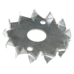 50mm Speed Pro Double Sided Round Timber Connector Galvanised