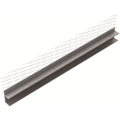 13mm Speed Pro Architrave Bead With Return Galvanised 3000mm (579)