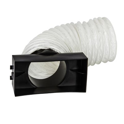 Pipe Adaptor Kit With 500mm Flexible Hose For 100mm Soil Pipe