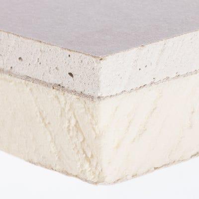 78mm British Gypsum Gyproc Thermaline PIR Plasterboard Tapered Edge 2400mm x 1200mm (8' x 4')