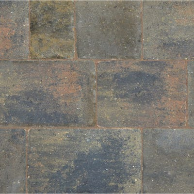 Bradstone Monksbridge Block Paving Croft Mixed 4 Size Pack (9.6m²)