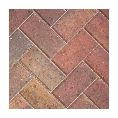 Bradstone 200mm x 100mm x 50mm CBP Driveway Block Paving Autumn