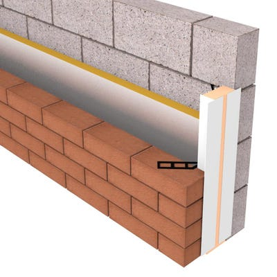 100mm Cellecta Therma-Pro Insulated Cavity Closer 2400mm