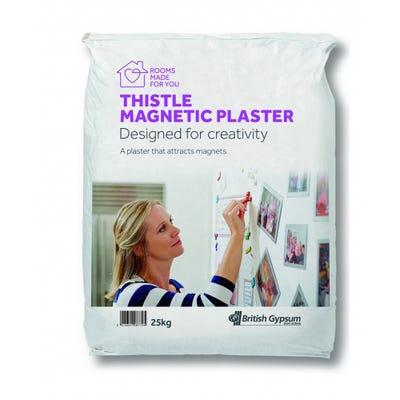 British Gypsum Thistle Magnetic Plaster 25Kg