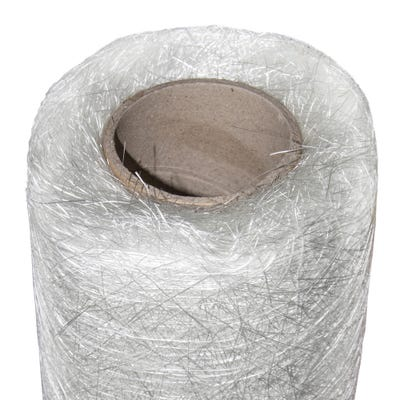 1000mm x 15m Cromar Pro GRP CSM Glass Fibre Matting Roll 450GSM 6.75kg