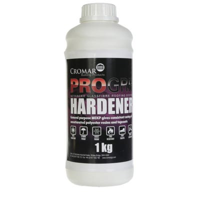 Cromar Pro GRP Top Coat Hardener Catalyst 1Kg