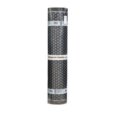 1000mm x 8m Torch On Black Mineral Felt Cap Sheet Bipol Std EKP SBS Pack of 28