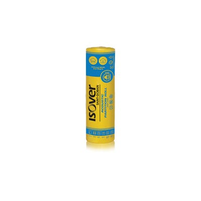 75mm Isover APR 1200 2/600mm x 12.2m Acoustic Partition Roll (14.64m²)