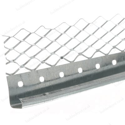 13mm Speed Pro Plaster Stop Bead Galvanised 2400mm (563) Pack of 50