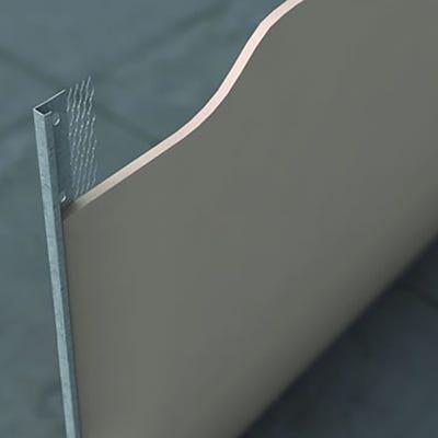 19mm Speed Pro External Plaster Stop Bead Galvanised 3000mm (566) Pack of 50